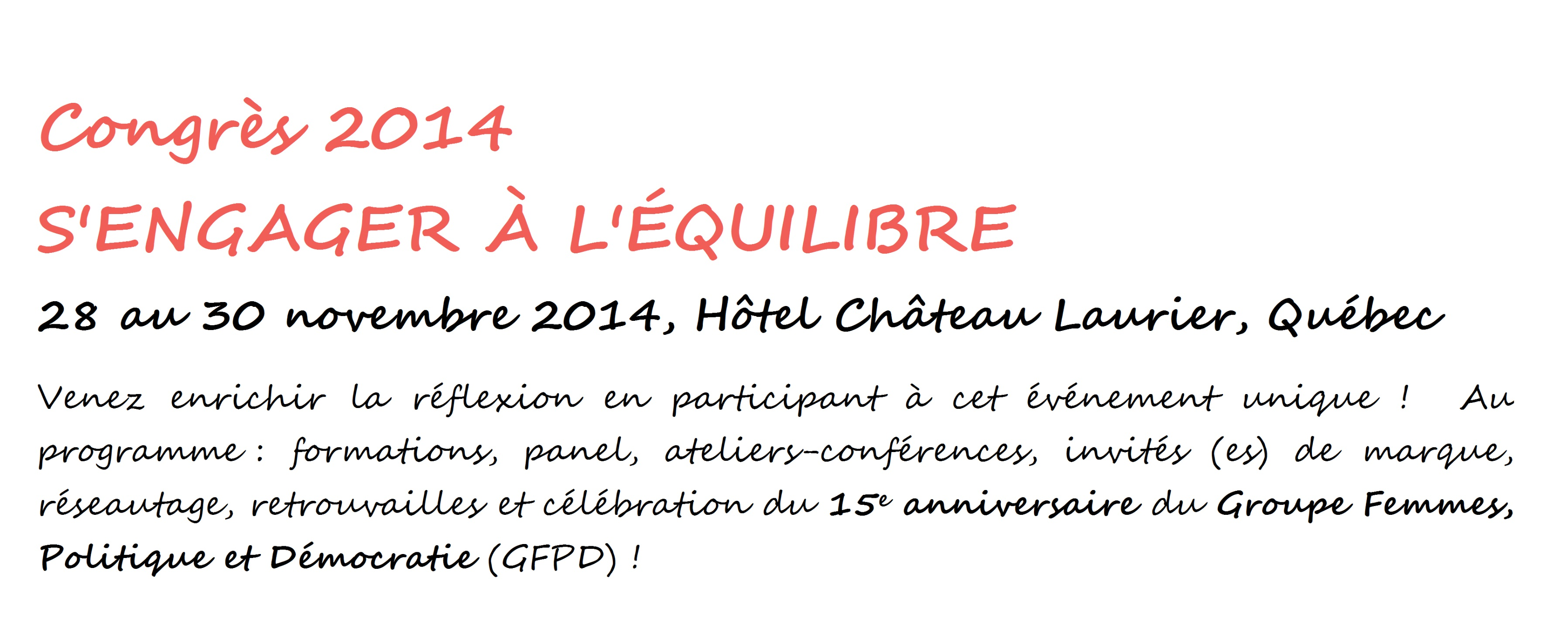 GFPD 2014 descriptif